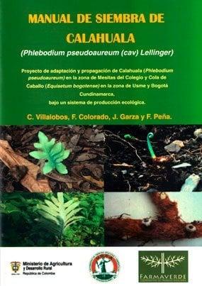 Manual de siembra de Calahuala