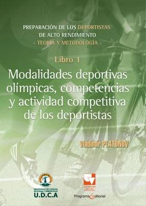 Modalidades deportivas olímpicas, competencias y actividades competitivas de los deportistas