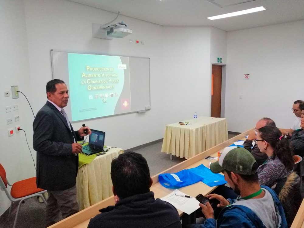Curso Internacional de Producción de Peces Ornamentales