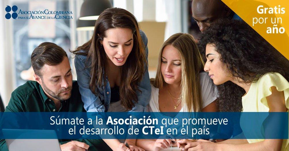 La Asociación Colombiana para el Avance de la Ciencia nos invita a ser parte de su comunidad