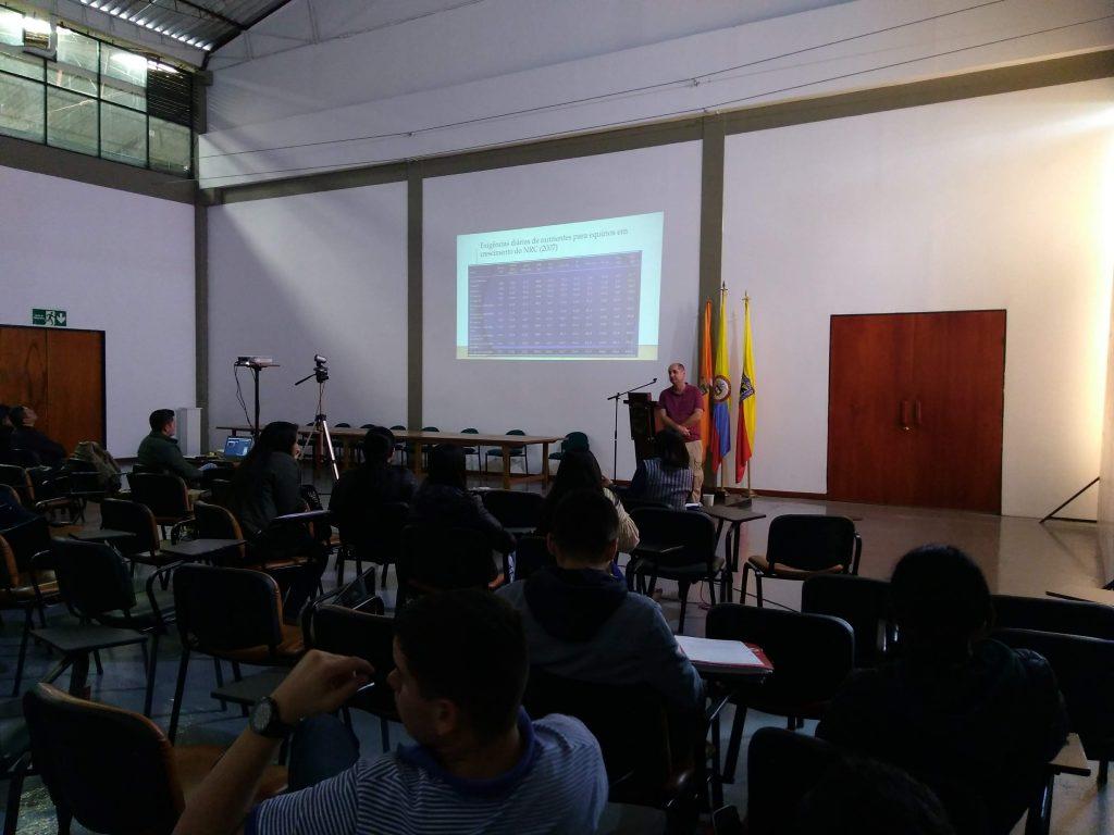 VISITA ACADÉMICA DEL CENTRO UNIVERSITARIO DE MINEIROS DE BRASIL